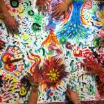 Danzamovimentoterapia - colori a dita - dimmicomedanzi.it