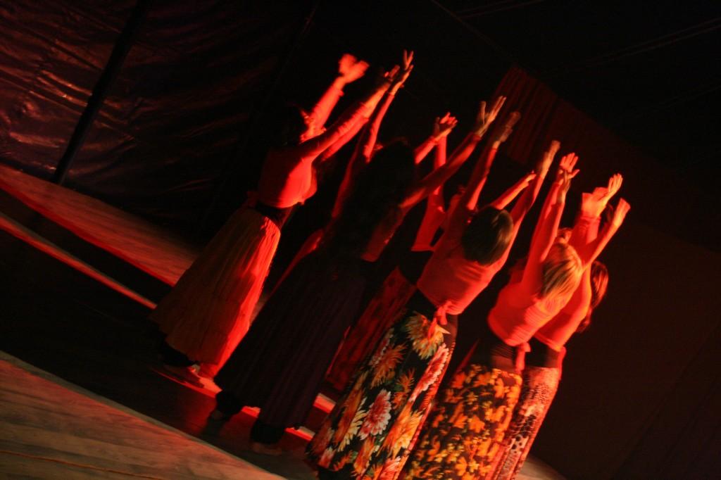 danzaterapi performance Genesi Le Baccanti Fuoco dimmicomedanzi.it