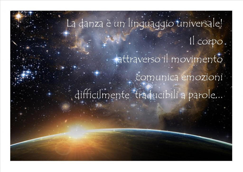 genesi danza linguaggio universale